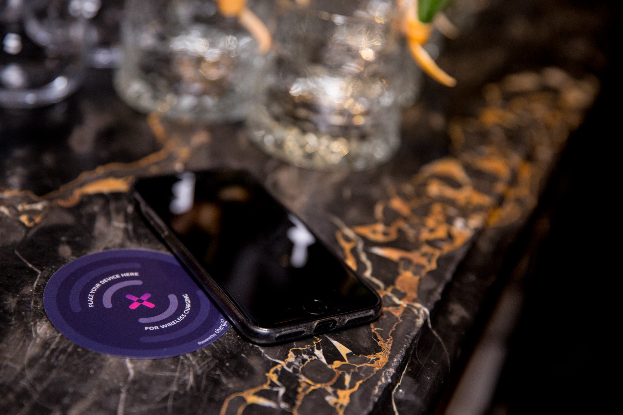 Wireless charging in Casinos