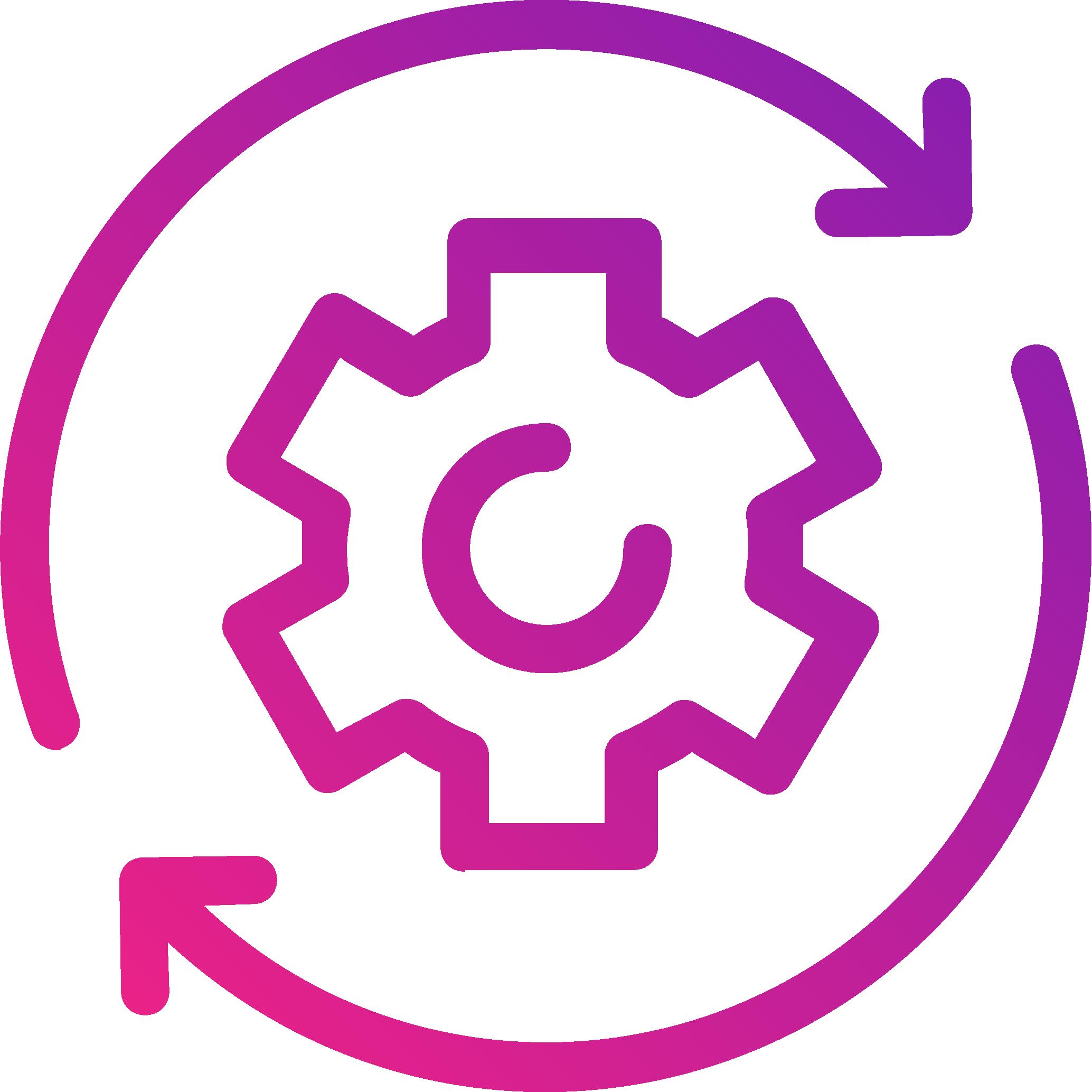 optimise space utilisation - icon