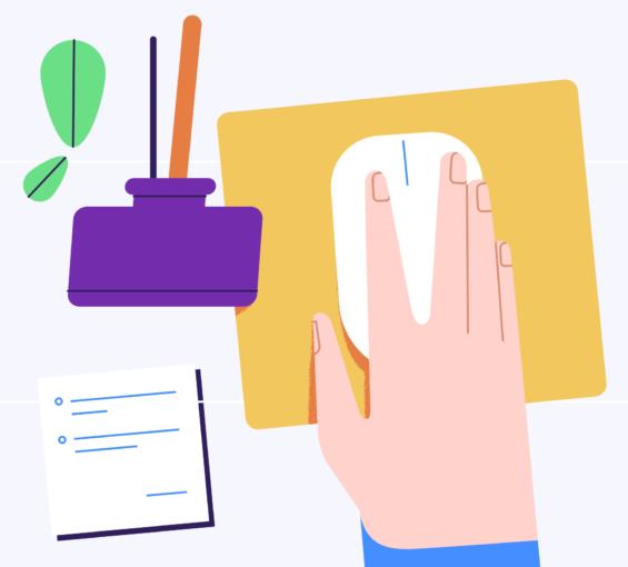 Clean clutter-free desktops with wireless power