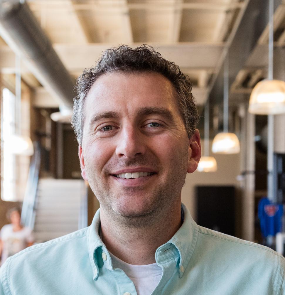 Headshot photo of former WeWork executive Shaun Ritchie